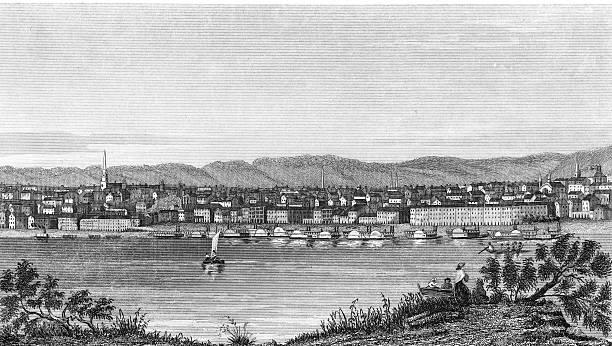 View Of The City Of Cincinnati Wall Art