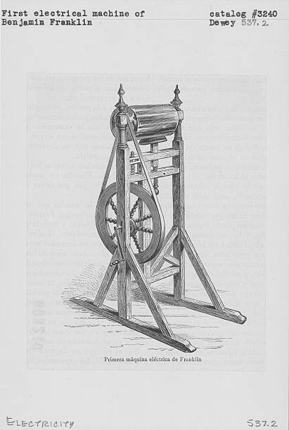 Illustration of the first electrical machine, used...