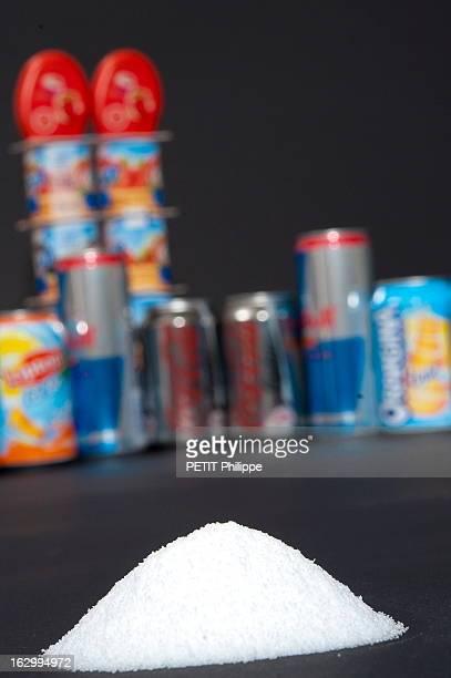 Illustration On Aspartame Les dangers de l'aspartame dans les produits alimentaires aspartame en poudre et produits light
