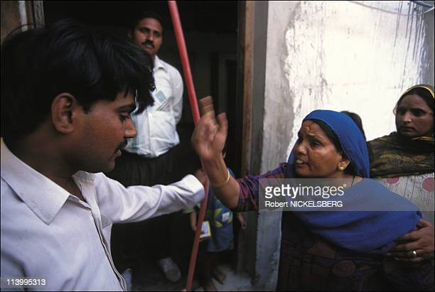 Illustration on conjugal violence disagreement of the DOT In India On May 31, 1995-Mother of Raj Bala appeared at in-law's house in anger over her...