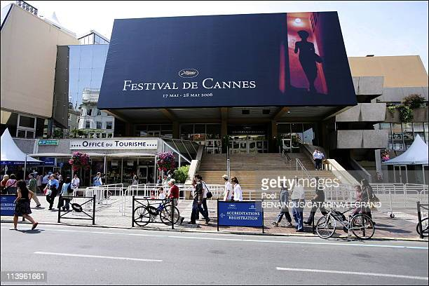 Illustration on the 59th Cannes Film Festival In Cannes France On May 17 2006