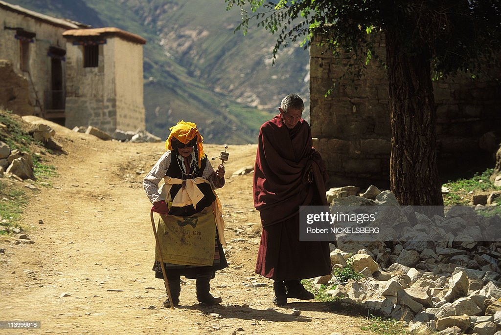 Illustration on Tibet In China In 1996- : News Photo