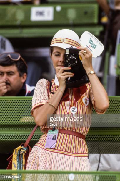 Illustration Photographer during the second stage of the 1982 FIFA World Cup match between Italy and Brazil, at Sarria Stadium, Barcelona, Spain on 5...
