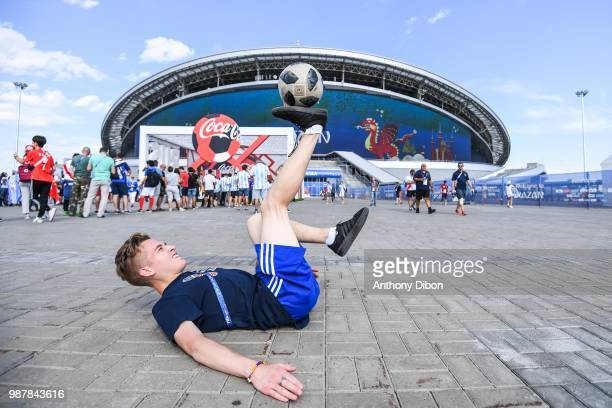 Illustration picture during the FIFA World Cup Round of 16 match between France and Argentina at Kazan Arena on June 30 2018 in Kazan Russia