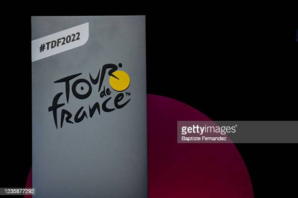 Illustration picture during the presentation of the Tour de France 2022 at Palais des Congres on October 14, 2021 in Paris, France.