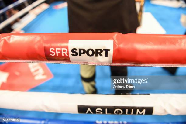 Illustration picture of Asloum event SFR Sport during the event No Limit Levallois at Salle Marcel Cerdan on December 14 2017 in Paris France