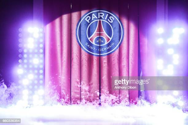 Illustration picture of PSG during the Lidl Star Ligue match between Paris Saint Germain and Toulouse at Stade Pierre de Coubertin on March 29 2017...