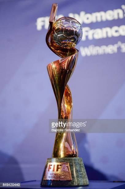 Illustration picture of the FIFA Women's World Cup during the Presentation World Cup 2019 in France on September 19 2017 in Paris France