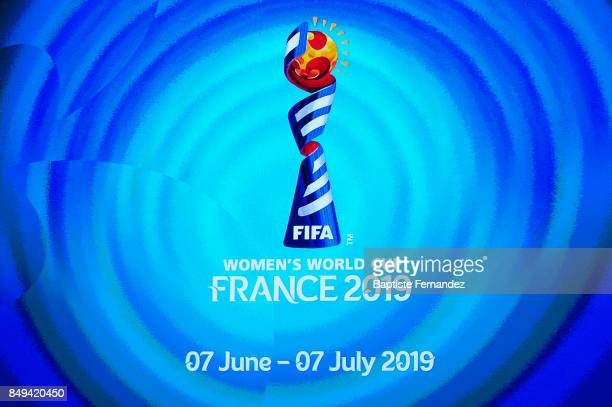 Illustration picture of Women's World Cup France 2019 during the Presentation World Cup 2019 in France on September 19 2017 in Paris France