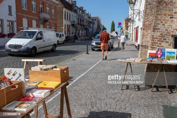 Illustration picture shows a book shop in Damme, Thursday 17 September 2020. BELGA PHOTO NICOLAS MAETERLINCK