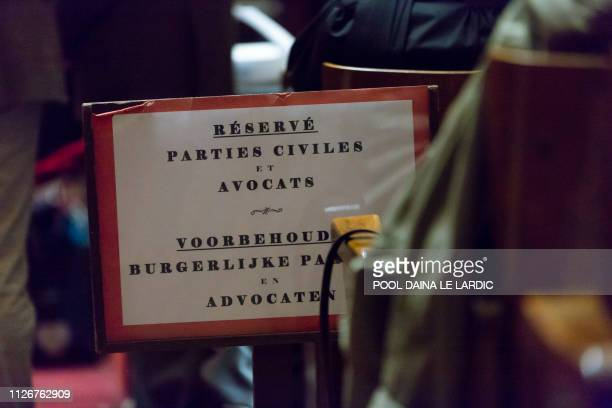 Illustration picture shows a session of the trial for the terrorist attack at the Jewish Museum in Brussels at the Brussels Justice Palace in...
