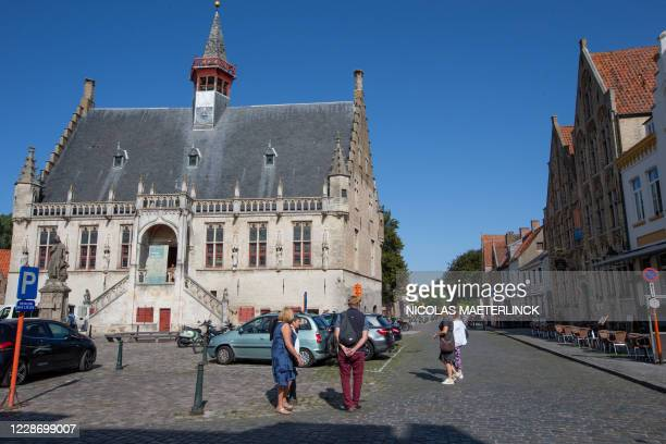 Illustration picture shows the old town hall in Damme, Thursday 17 September 2020. BELGA PHOTO NICOLAS MAETERLINCK