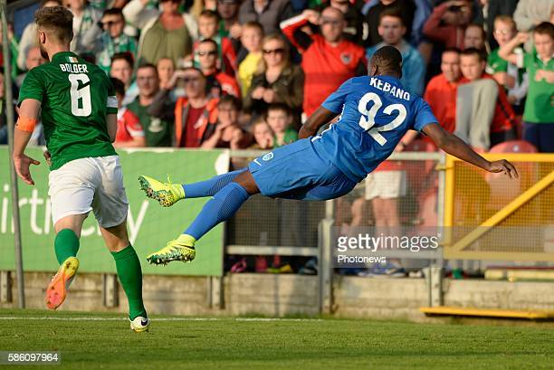 illustration picture with Neeskens Kebano forward of Krc Genk pictured during UEFA Europa League third qualifying round 2nd Leg match between Cork...