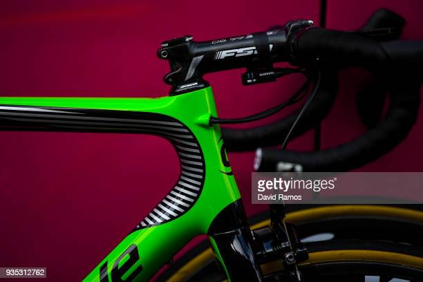 Illustration / Pierre Rolland of France and Team EF Education FirstDrapac p/b Cannondale / Bike/ during the 98th Volta Ciclista a Catalunya 2018...