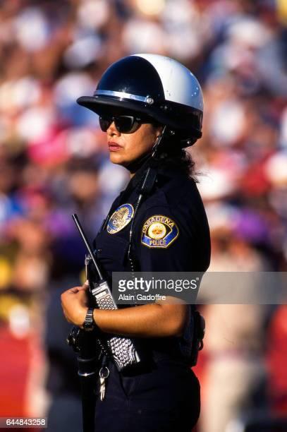 Illustration Police Roumanie / Colombie Coupe du Monde 1994 Photo Alain Gadoffre / Icon Sport