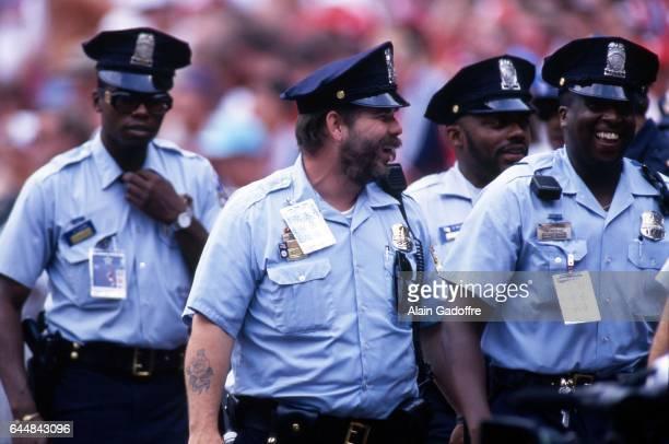 Illustration Police Norvege / Mexique Coupe du Monde 1994 Photo Alain Gadoffre / Icon Sport