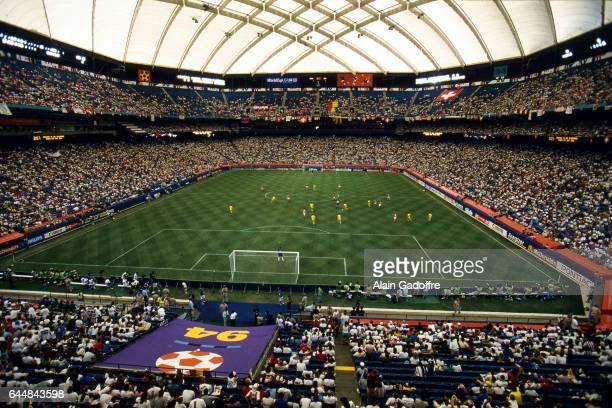 Illustration Pontiac Silverdome Roumanie / Suisse Coupe du Monde 1994 Photo Alain Gadoffre / Icon Sport