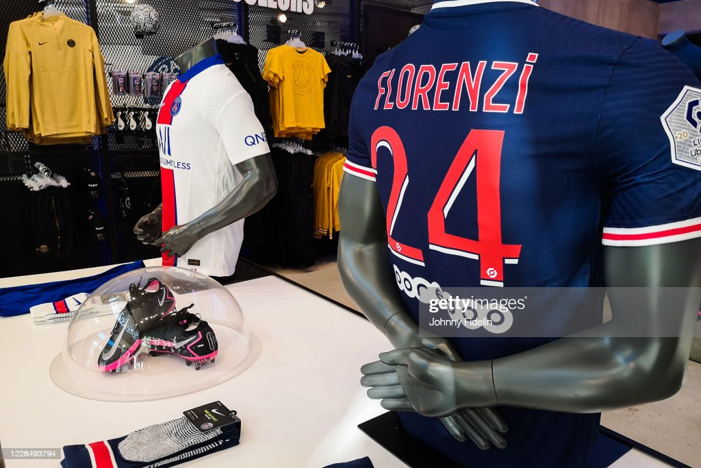 Illustration Psg Shop With A New Jersey With Alessandro Florenzi News Photo Getty Images