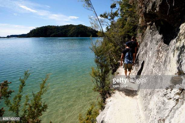Illustration randonee Parc National Abel Tasman Nouvelle Zelande