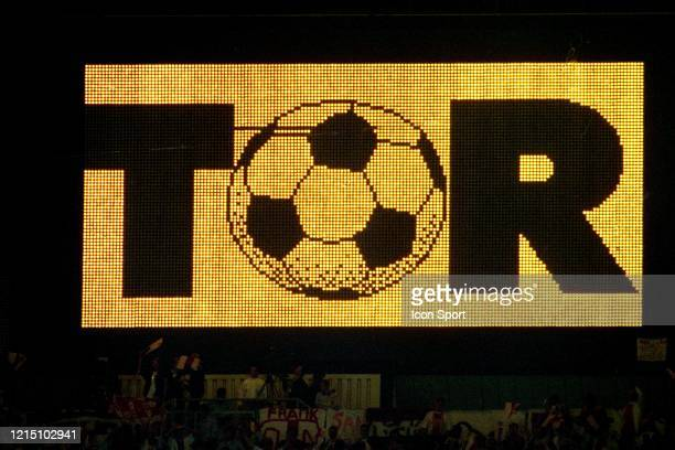 Illustration scoreboard during the Champions League Final match between Ajax Amsterdam and Milan AC at ErnstHappelStadion Vienna Austria on 24th May...