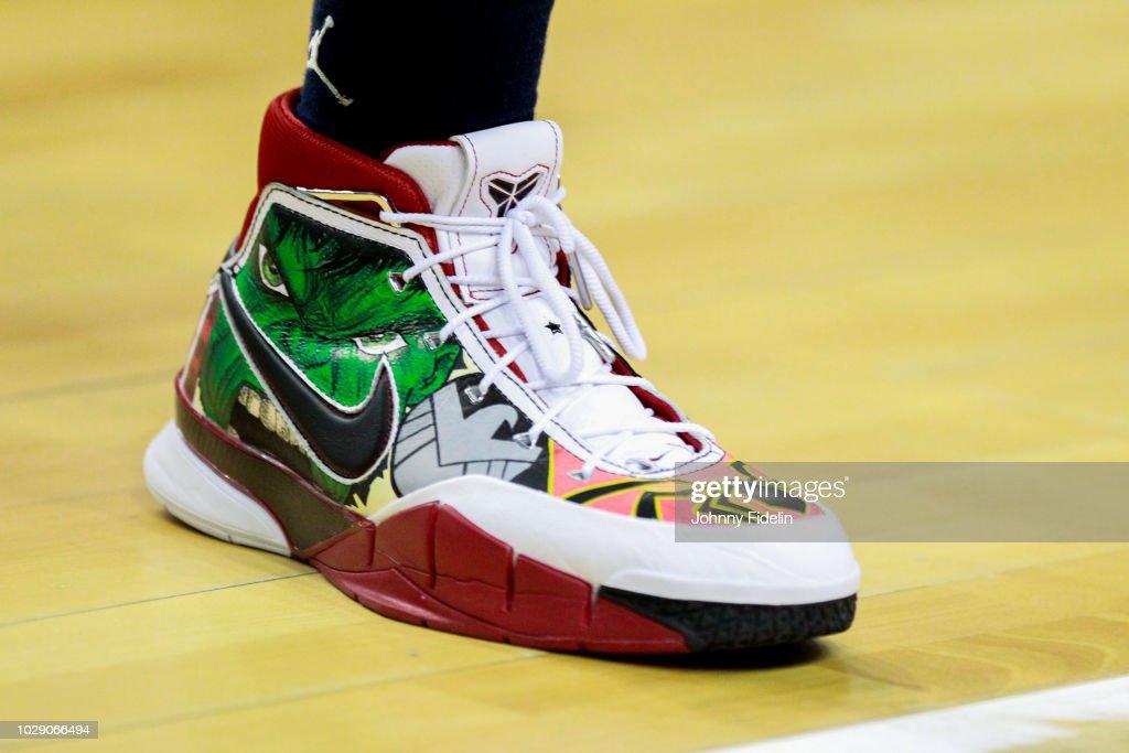 d149194baf12 Illustration Shoes Nike Avengers of Edwin Jackson of France during ...