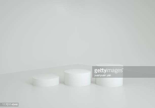 3d illustration showroom background - column stock pictures, royalty-free photos & images