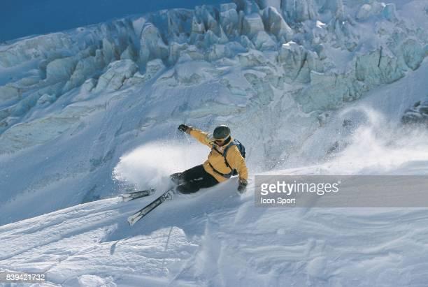 Illustration ski La Grave