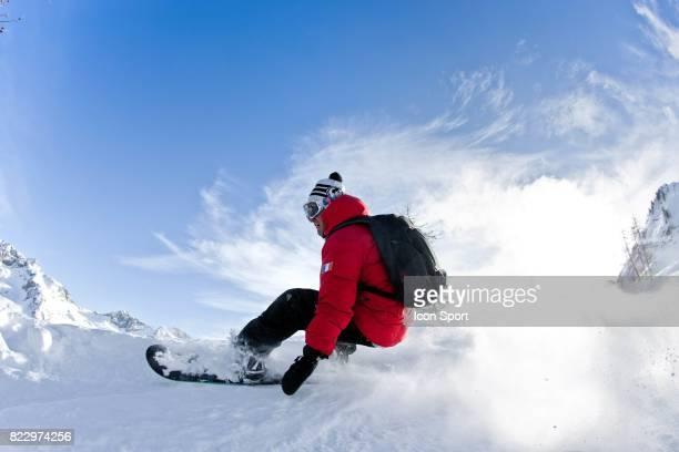 Illustration Snowboard Isola 2000 Alpes Maritimes