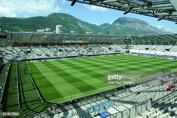 Illustration Stade des Alpes during the final of the Women's French Cup match between Montpellier and Olympique Lyonnais at Stade des Alpes on May 15...