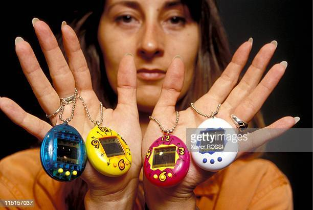 Illustration Tamagotchis in France on June 02 1997