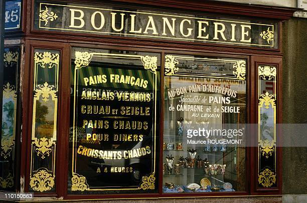 Illustration The French baguette in Paris France in 2000