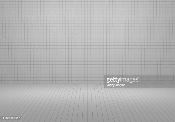 3d illustration tile wall background - bathroom stock photos and pictures
