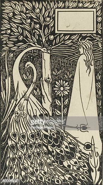 Illustration to the book Le Morte d'Arthur by Sir Thomas Malory 18931894 Private Collection Artist Beardsley Aubrey