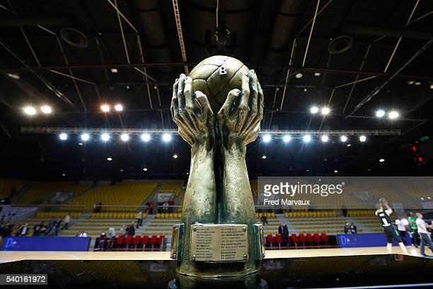 Illustration trophy during the Basketball Pro A Final game 5 between Strasbourg and Asvel Lyon Villeurbanne on June 14 2016 in Strasbourg France