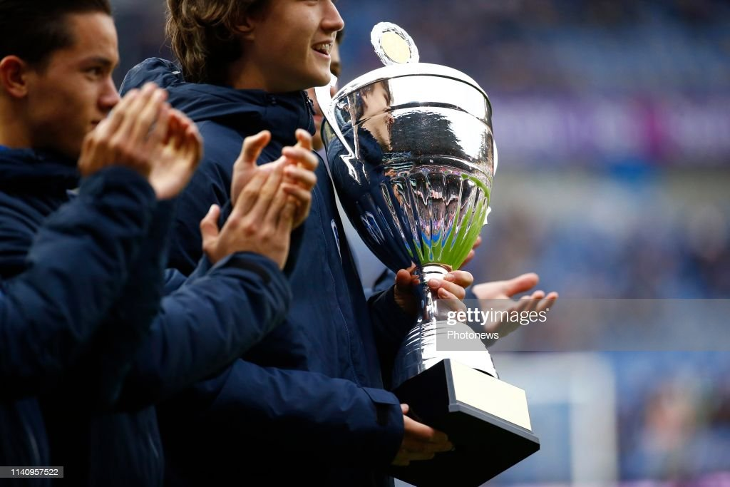 Illustration Trophy During The Jupiler Pro League Play Off 1 Match News Photo Getty Images