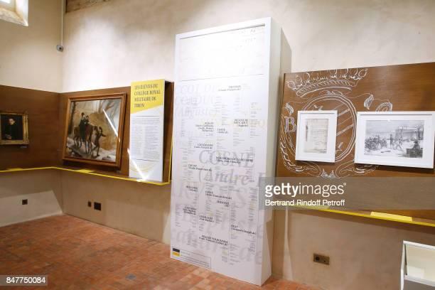 Illustration view during Members of the Stephane Bern's Foundation for 'L'Histoire et le Patrimoine' visit the 'College Royal et Militaire' de...