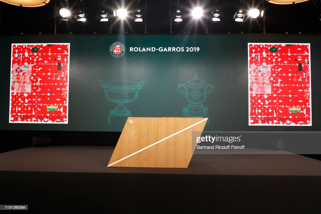 FRA: 2019 Tennis French Open : Women's And Men's Singles Draw At Roland Garros In Paris