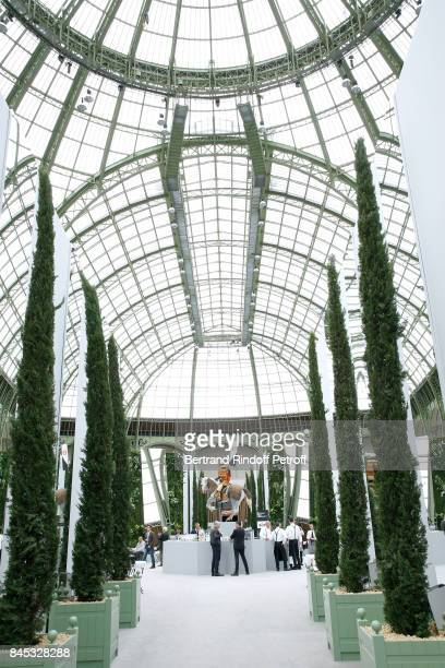 Illustration view during the Biennale des Antiquaires 2017 PreOpening at Grand Palais on September 10 2017 in Paris France