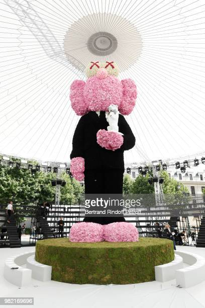 Illustration view during the Dior Homme Menswear Spring/Summer 2019 show as part of Paris Fashion Week on June 23 2018 in Paris France