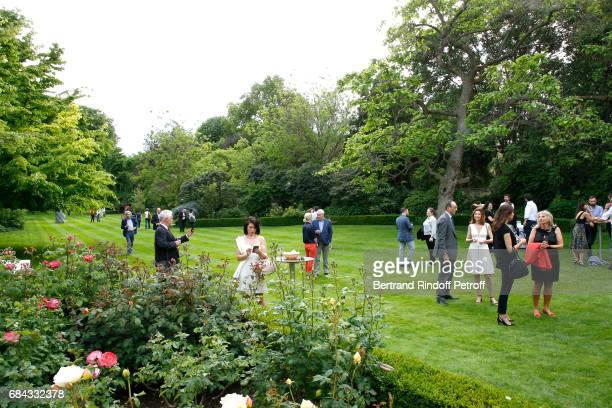 Illustration view during the Neighbours' Day Cocktail at British Embassy on May 17 2017 in Paris France