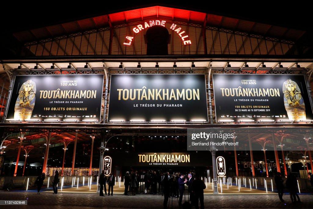 "FRA: ""Toutankhamon, Le Tresor Du Pharaon - Tutankhamun And The Golden Age Of The Pharaohs"": Photocall At La Villette In Paris"
