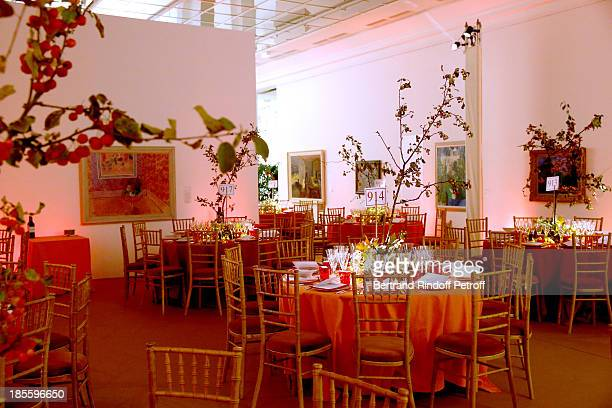 Illustration view from the the dinner of the friends of the 'Musee d'Art Moderne de la ville de Paris' on October 22 2013 in Paris France