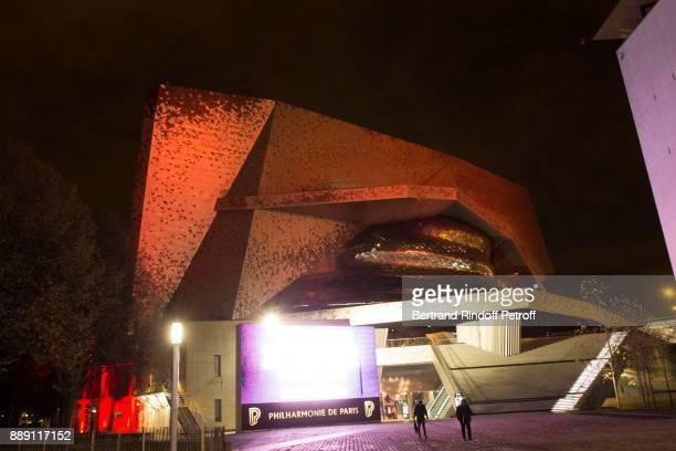Illustration View of Philharmonie De Paris on December 9 2017 in Paris France