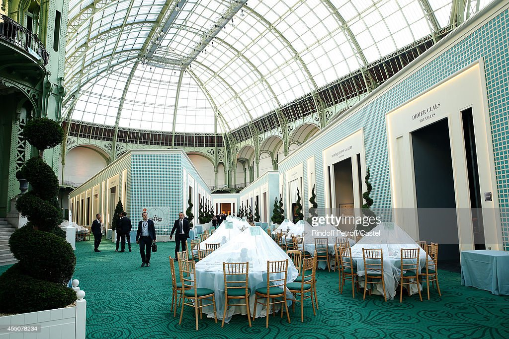 Illustration view of the 27th 'Biennale des Antiquaires' Pre Opening at Le Grand Palais on September 9, 2014 in Paris, France.