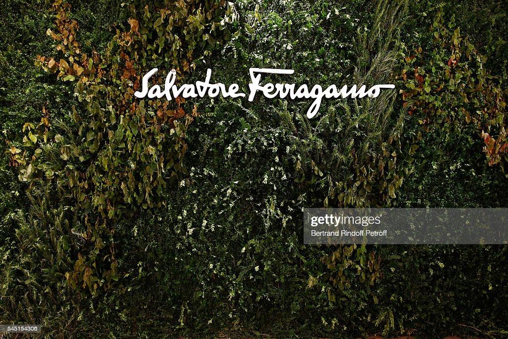 Re Opening Salvatore Ferragamo Boutique Montaigne : Fotografía de noticias
