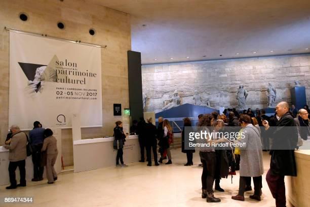 45 Stephane Bern Visits The International Exhibition Of