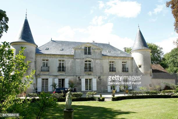 Illustration view of the Chateau de Monthyon during the Garden Party organized by Bruno Finck companion of JeanClaude Brialy at Chateau De Monthyon...