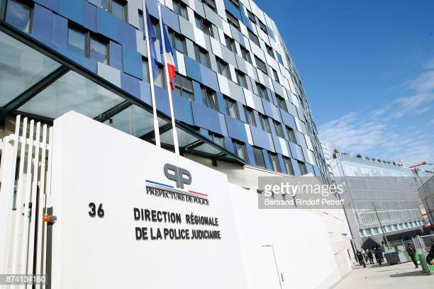 Illustration view of the new local of the 'Direction Regionale de la Police Judiciaire' during Sylvain Forge wins the '71eme Prix du Quai des...