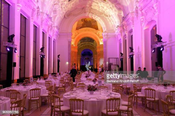 Illustration view of the Petit Palais during the 'Cesar Revelations 2018' Party at Le Petit Palais on January 15 2018 in Paris France