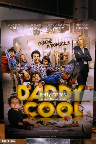 Illustration view of the poster during the 'Daddy Cool' Paris Premiere at UGC Cine Cite Bercy on October 26 2017 in Paris France